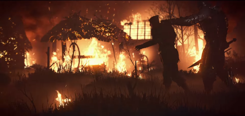 Screenshot-Wild-Hunt-Wraith-Rider-Prisoner-Burning-Village 3.png