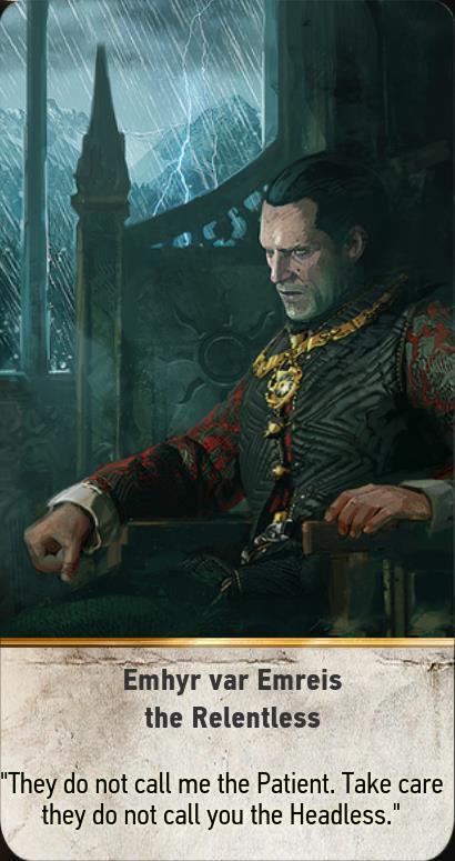 Nilfgaardian empire gwent cards the witcher 3 wiki - Ciri gwent card witcher 3 ...