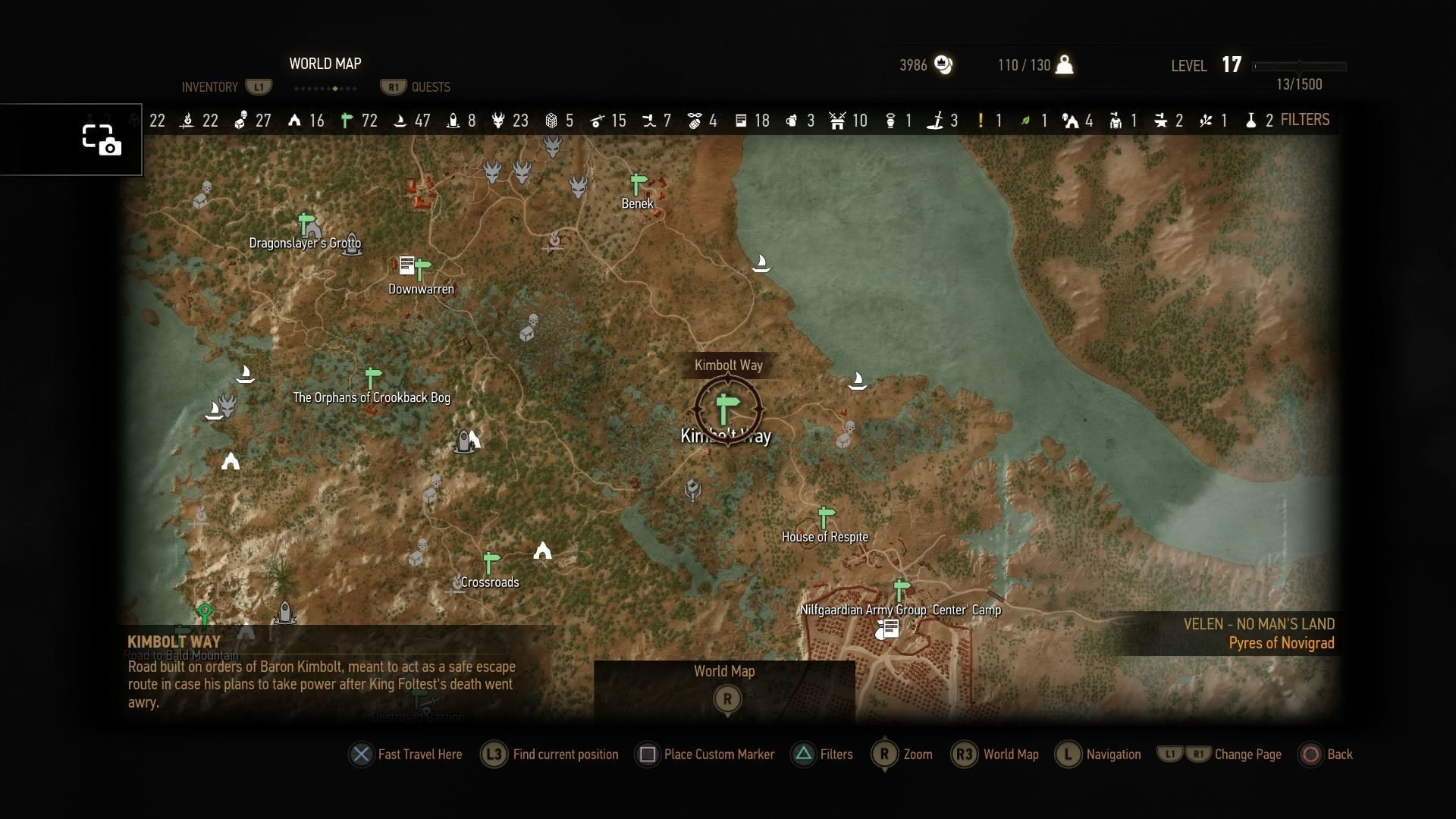 how to get to kaer trolde place of power