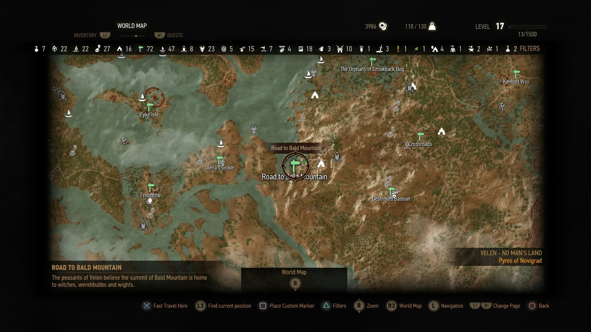 Road To Bald Mountain The Witcher 3 Wiki