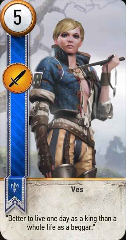 Ves gwent card the witcher 3 wiki - Ciri gwent card witcher 3 ...